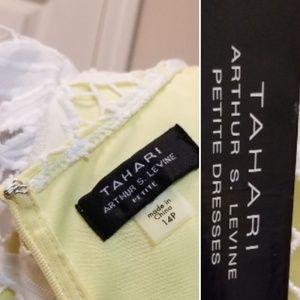 Tahari ASL Dresses - 🆕️Tahari ASL Novelty Ruffle Sleeve Floral Dress